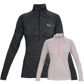 Sweat 1/2 zip Tech Novelty Femme Under Armour